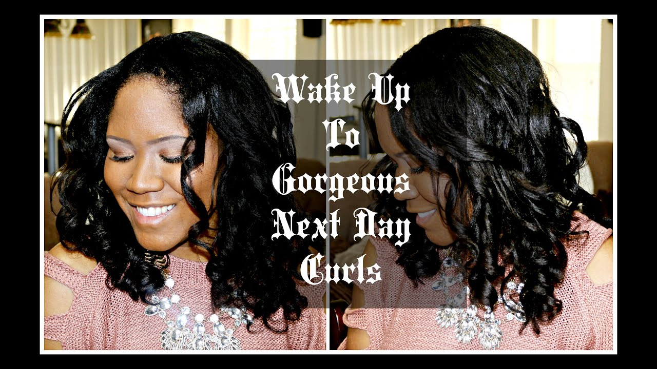 How I Maintain My Roller Sets Wake Up To Gorgeous Next Day Curls - Next hair