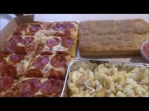 PIZZA HUT BIG BOX MUKBANG - YouTube