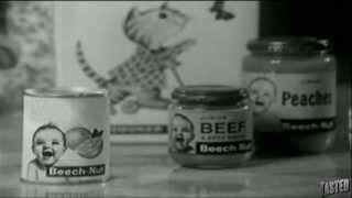 Beech-Nut Baby Goo! Part of a Balanced Diet - 1950's TV Advertisement