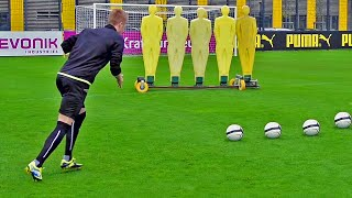 How To Shoot Like Marco Reus | Top Spin Free Kick Tutorial | freekickerz