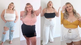HUGE PRETTY LITTLE THING PLUS SIZE TRY-ON HAUL