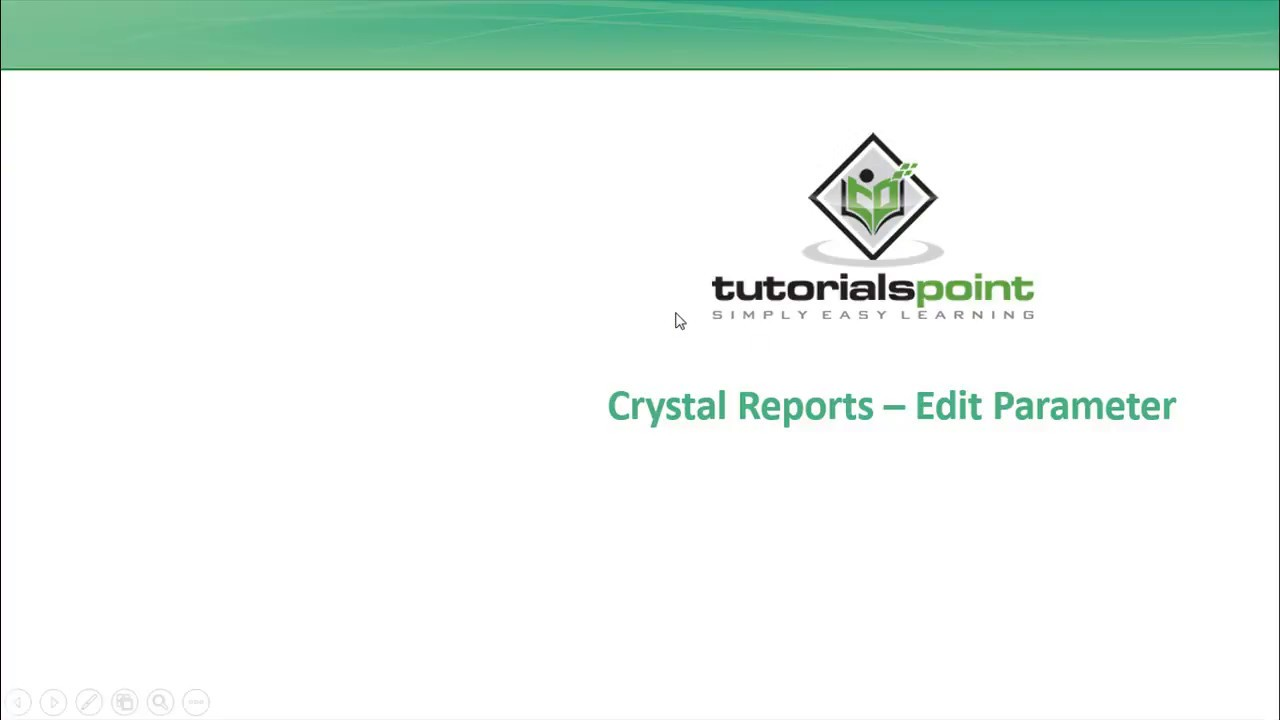 how to edit crystal reports