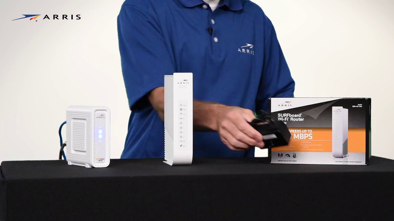 ARRIS – Setting up Your Surfboard WiFi Router for Optimal Coverage