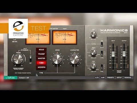 Test - Softube Harmonics Dynamic Distortion Plug-in - Is This The Best Saturation Plug-in Ever?