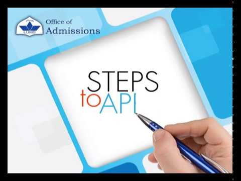 Admission Process   Office of Admission