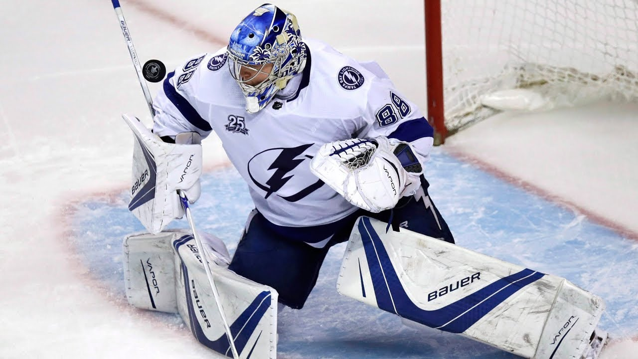 Andrei Vasilevskiy's consistency prevails against Capitals in Game 3