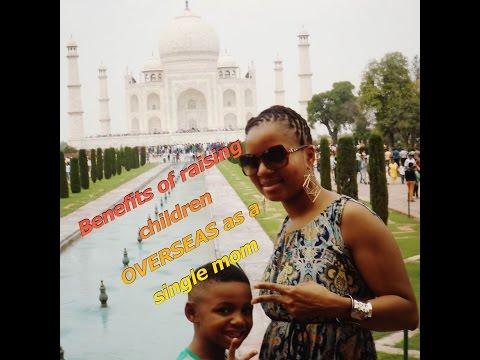 Single mothers: 5 advantages of raising AA children overseas