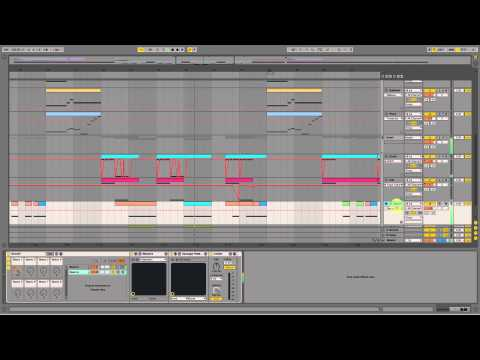 Skrillex  Scary Monsters And Nice Sprites Ableton  Remake