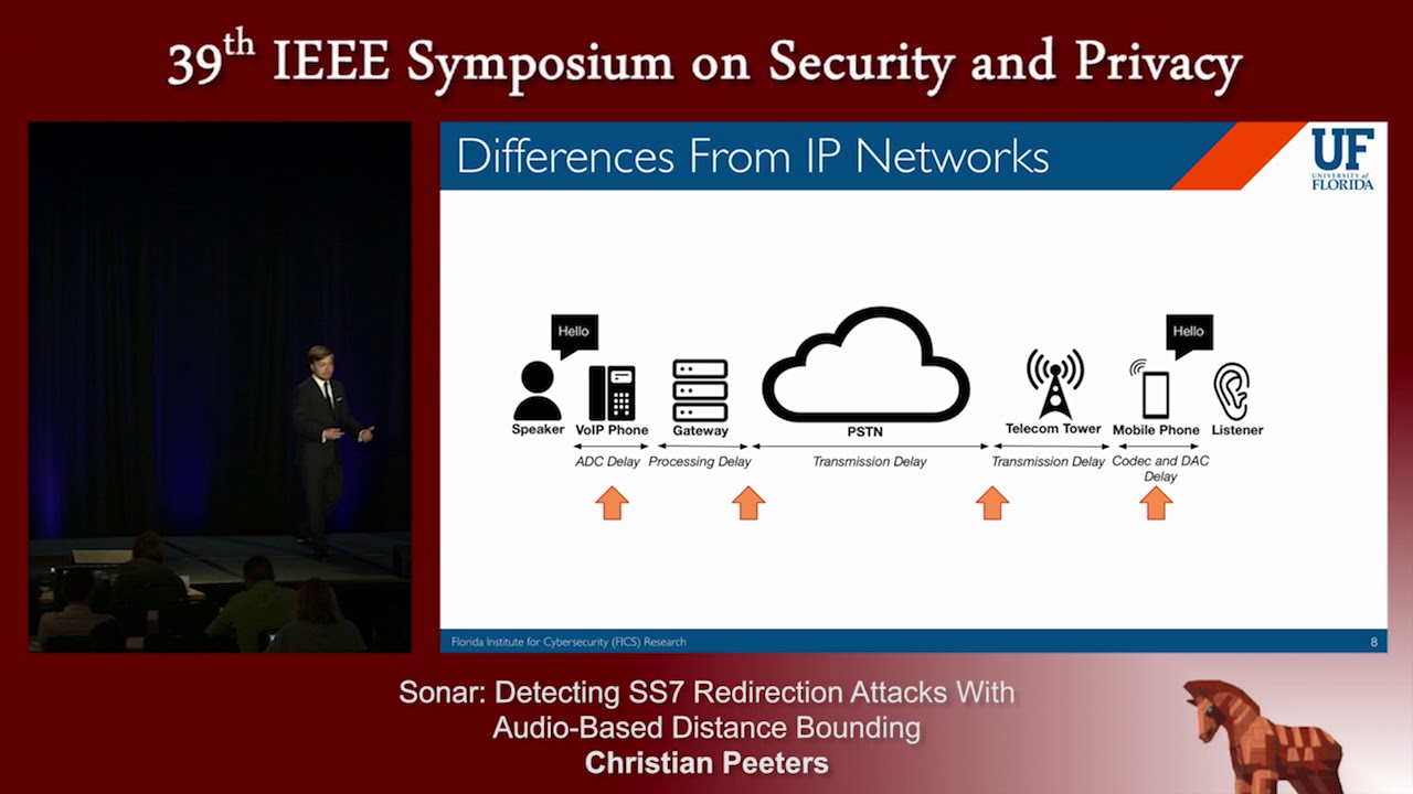 Sonar: Detecting SS7 Redirection Attacks With Audio-Based ...