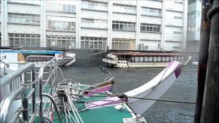 ゲリラ豪雨で神田川氾濫寸前 thumbnail