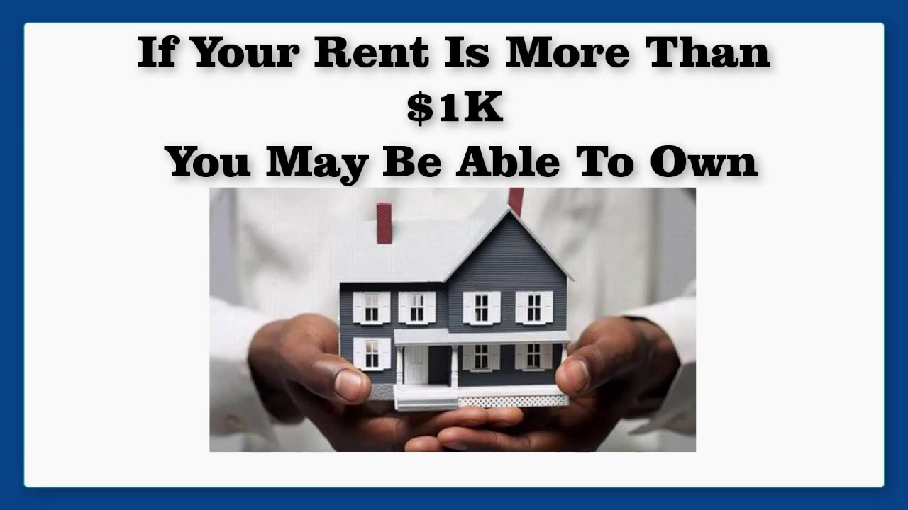 renters can buy  stop paying rent and start buying a house