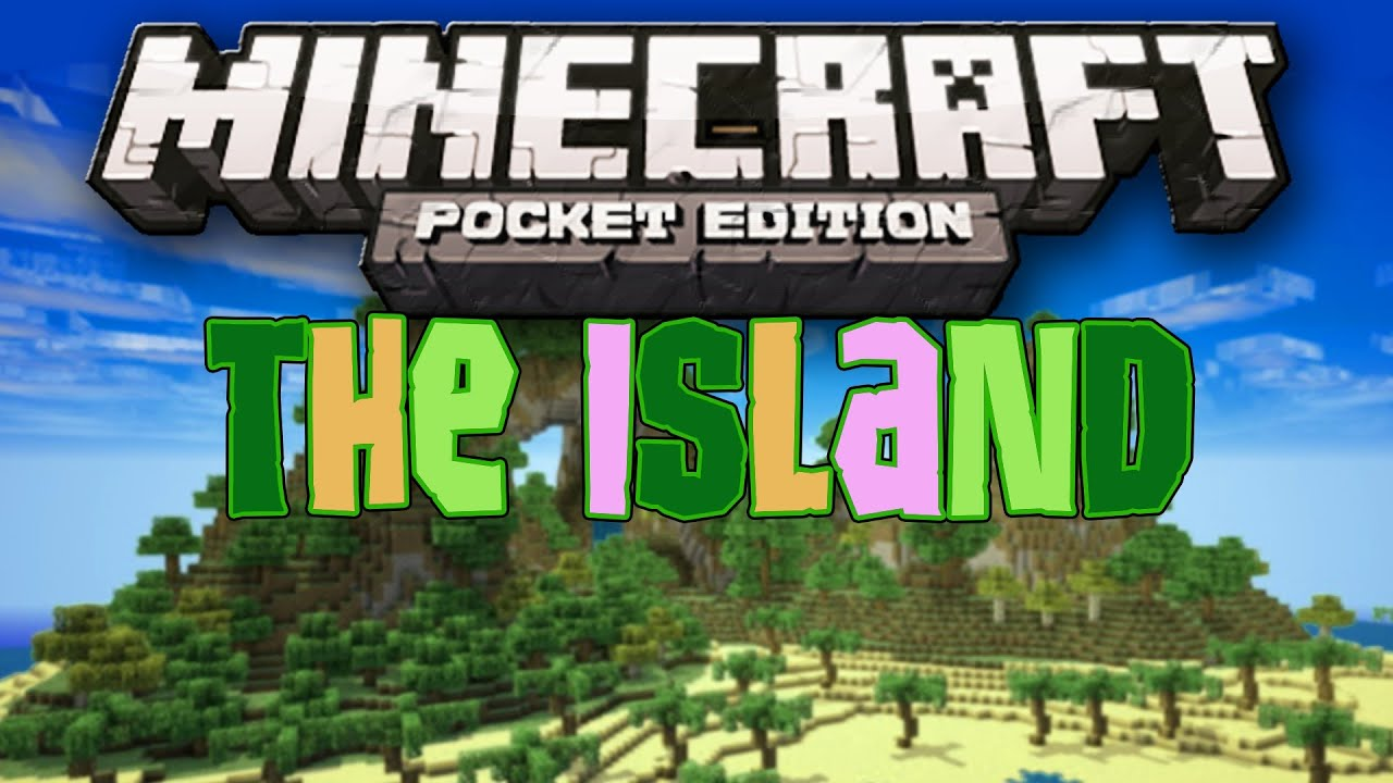 The Island - Tropical Paradise Map - Minecraft Pocket Edition - YouTube
