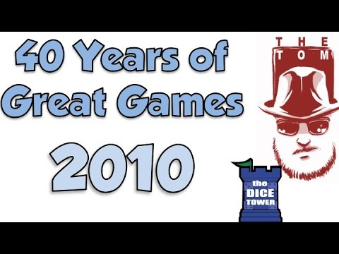 40 years of Great Games: 2010