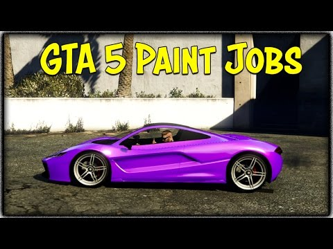 GTA 5 Online TOUCH UP TUESDAY! (Midnight Moon, Phoenix Flare & More) [GTA V Cool Paint Jobs]