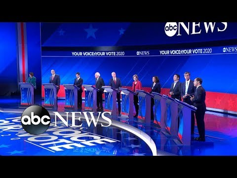 Democratic candidates debate: How to budget health care l AB