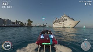 The Crew 2 - Power Boat Events at Popular Fame Level (Xbox One X)