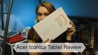 Acer Iconica One 10 Tablet Review