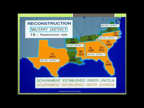US History #10: The Reconstruction Era