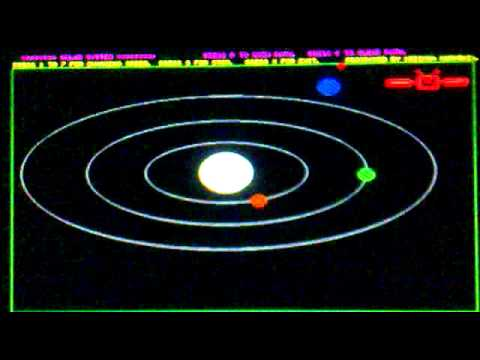 Turbo C Graphics Programming Solar System Youtube