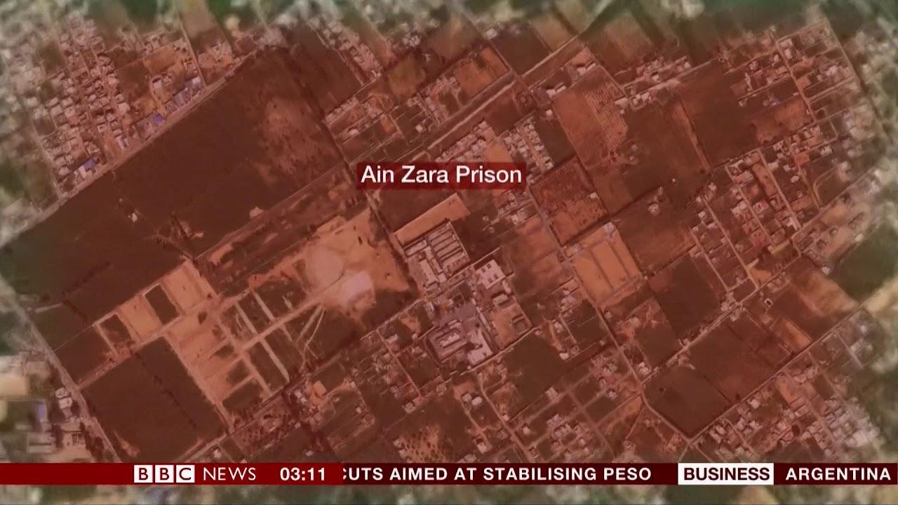 Tripoli violence leads to prison escape (Libya) - BBC News - 3rd September  2018