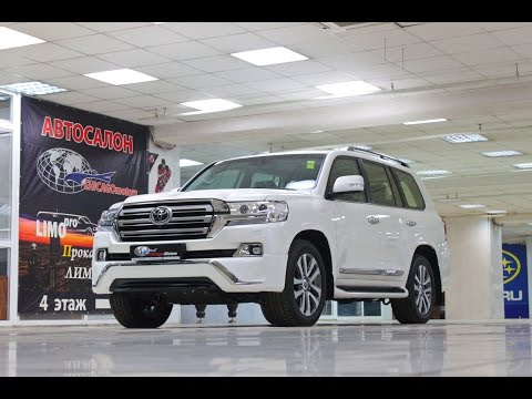 2017 Toyota Land Cruiser 200 4.6AT Executive CHICAGO MOTORS MOSCOW