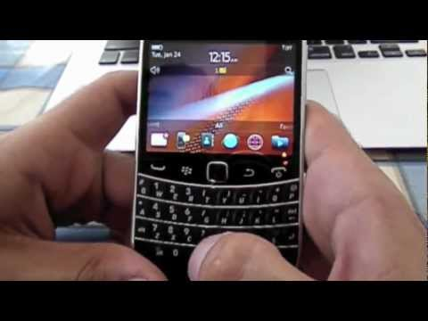 How to Unlock Blackberry Bold 9900