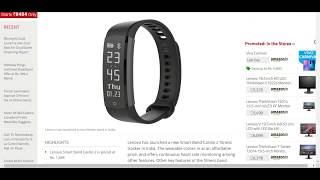 Lenovo Smart Band Cardio 2 With Heart Rate Monitor   unboxing  lenovo hw02 fitness smart band