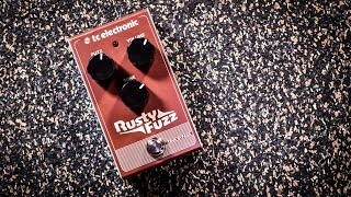 TC Electronic RUSTY FUZZ - in depth review with different amps