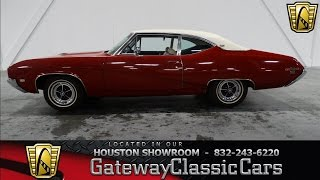1969 Buick Skylark Gateway Classic Cars of Houston  stock 246 HOU