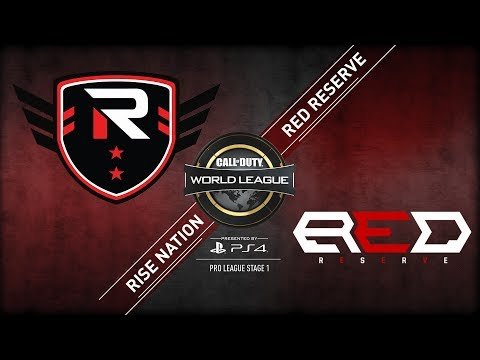 Rise Nation vs Red Reserve | CWL Pro League  | Stage 1 | Week 5 | Day 2