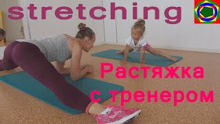 Растяжка на шпагат  How to Do The Splits