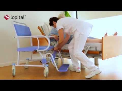 Lopital Tango XL Shower Toilet Chair 51005705