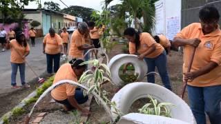 Barrio San Gerónimo de Chongón gana premio por mejorar su cuadra en concurso municipal