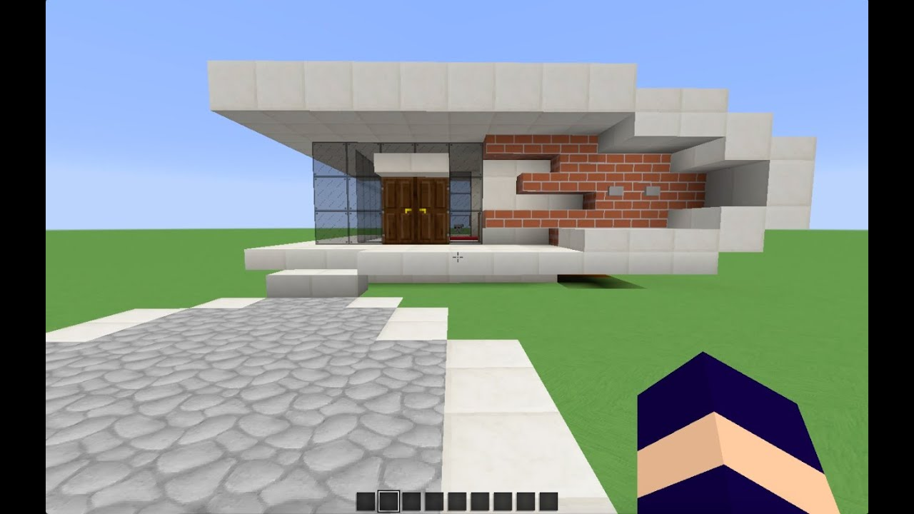 Minecraft tuto   Construction d une petite maison moderne   YouTube