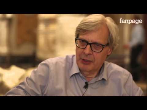 Vittorio Sgarbi [VIDEO] spiega la Cappella Sansevero e il Cristo Velato (Fanpage.it)