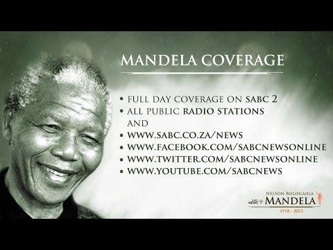 SABC TV Live Stream Coverage: Nelson Mandela Tribute, 6 Dec 2013 (2)