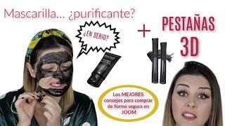Máscara de pestañas 3D + Consejos para comprar en JOOM + Mascarilla facial