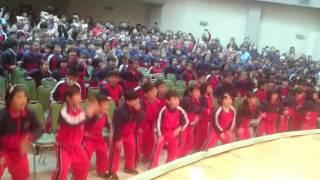 2016。3。25聖心小學運動會  7個習慣舞
