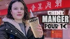 JE MANGE QUE DES TRUCS À 1€ EN CHINE PENDANT 24H - Claire