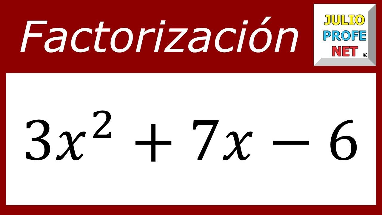 FACTORIZACIÓN DE TRINOMIOS DE LA FORMA ax²+bx+c - Ejercicio 2