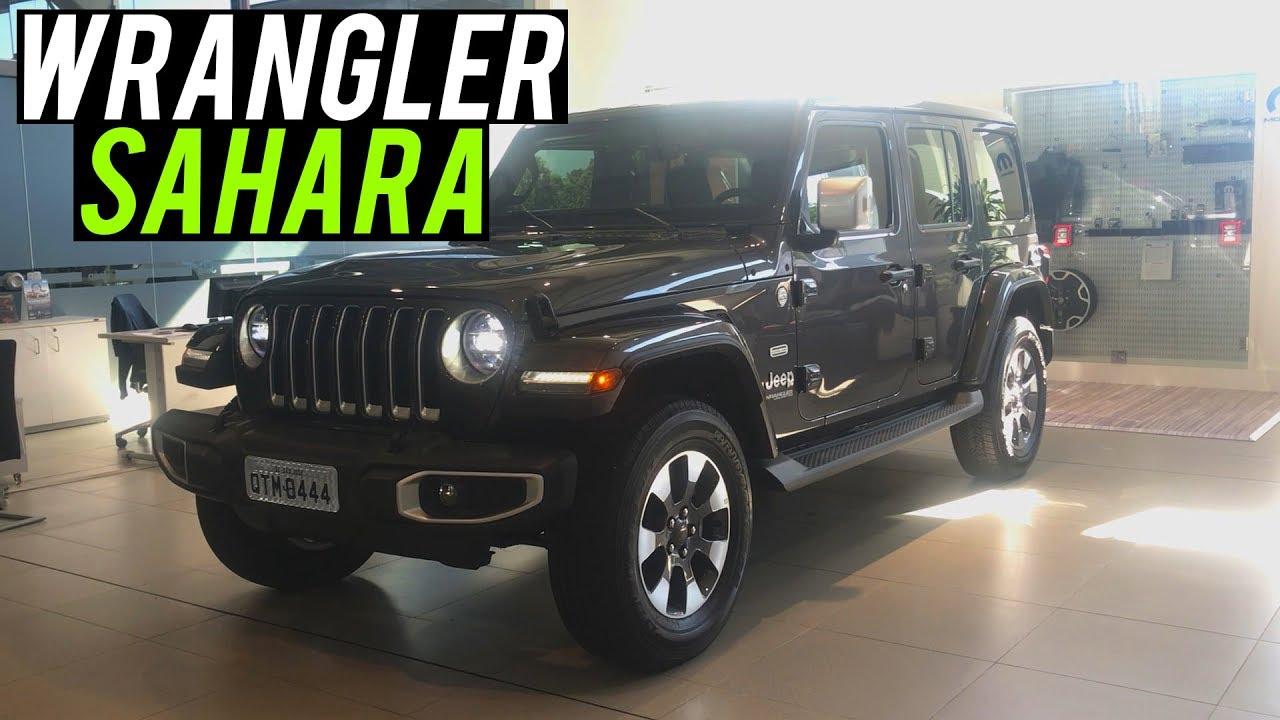 Avaliacao Novo Jeep Wrangler Unlimited Sahara Overland 2020 Curiosidade Automotiva Youtube