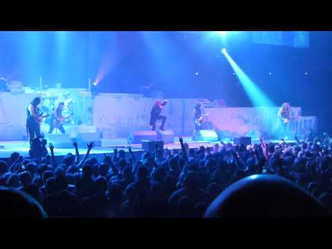 Iron Maiden 9/5/2013 Bridgestone Arena Nasville TN Part 1