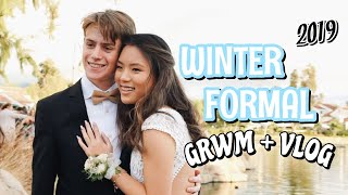 WINTER FORMAL GRWM + VLOG 2019 (junior year)