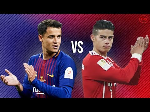 Philippe Coutinho Vs James Rodriguez●Skills, Goals, Assists, Passing
