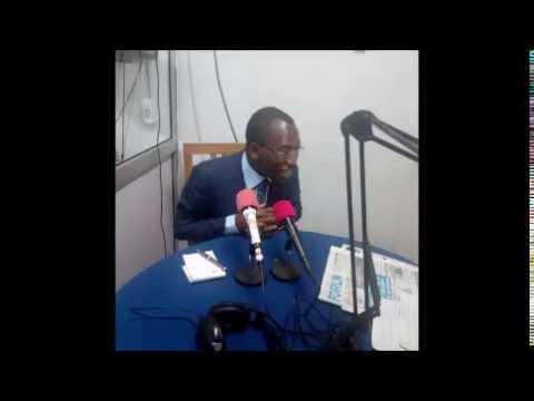 Emission avec Gilbert Bawara sur la Radio Taxi Fm TOGO