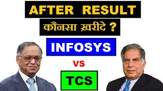 Infosys (vs) TCS , After Result किसमे निवेश करें ??  Stock market latest news in Hindi by SMkC