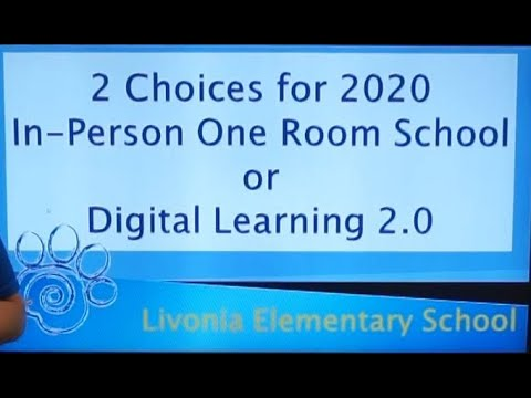 Choices for 2020 Livonia Elementary School