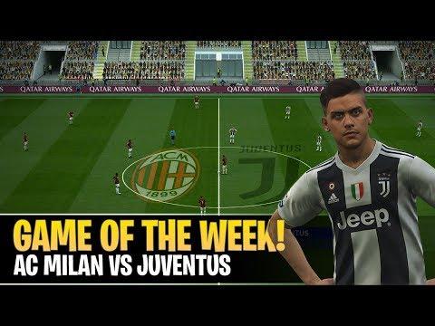 [TTB] PES 2019 - AC Milan vs Juventus (Realistic Mods) - Game of the Week Prediction! Mp3