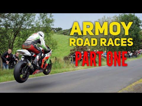 Armoy Road Races 2017 - Dunlops Jump   CRAZY AIR