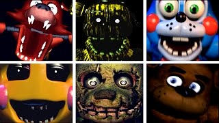 Five Golden Nights at Freddy s 2 All Jumpscares